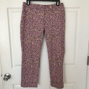 The Limited Drew Fit Cropped Floral Print